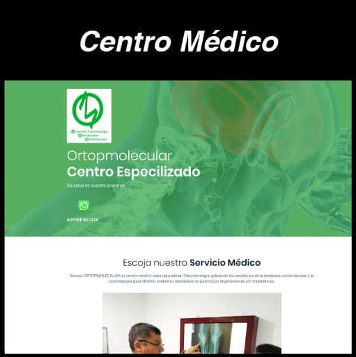Web Centro Médico