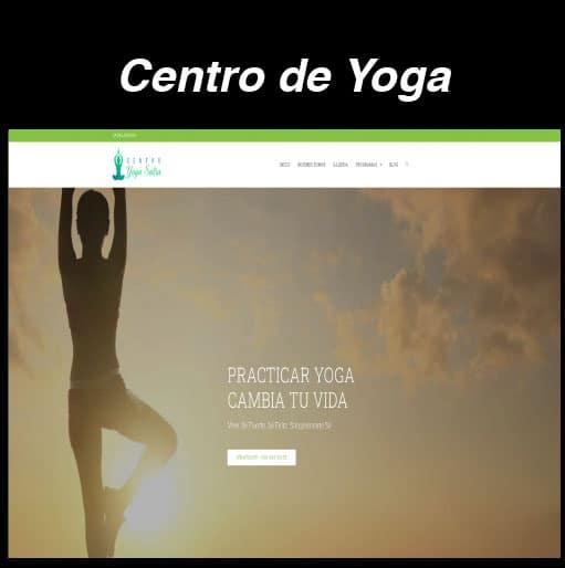 Web Centro Yoga