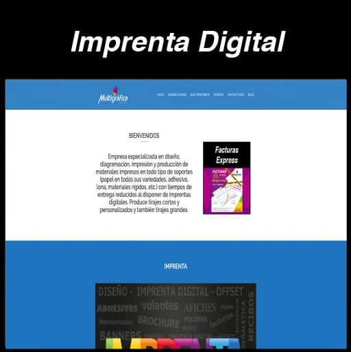 Web Imprenta Digital
