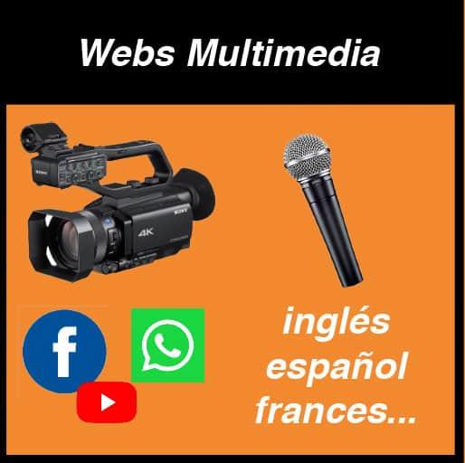 Lee más sobre el artículo Webs Multimedia